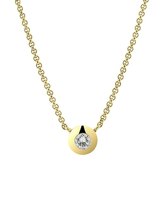 Diamond Ball Chain Yellow