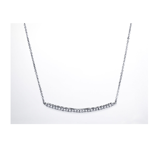 Diamond Lines Necklace 2